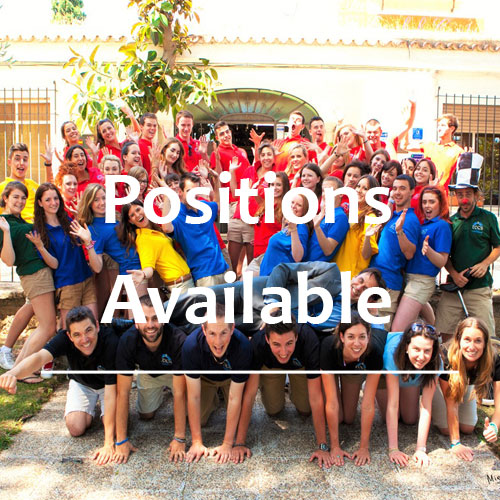 Positions available on camp