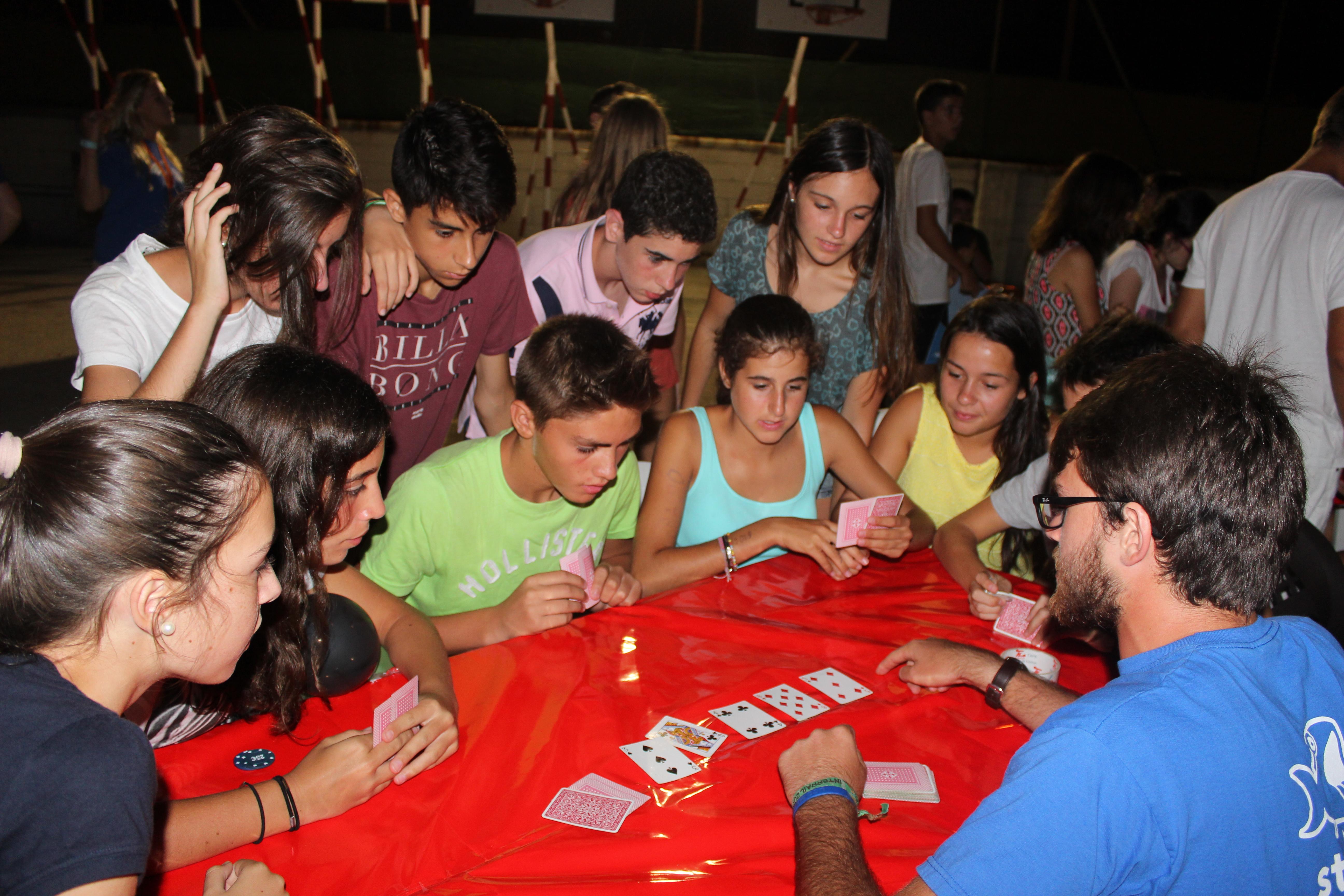 Casino Night on Camp