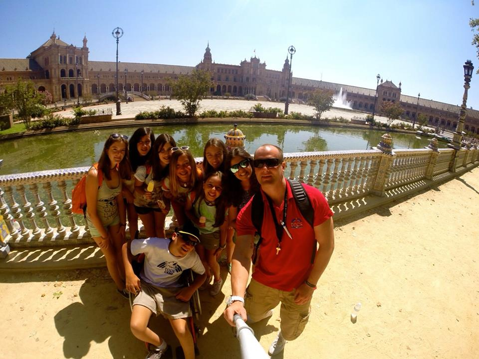 Seville excursion at Summer Camp