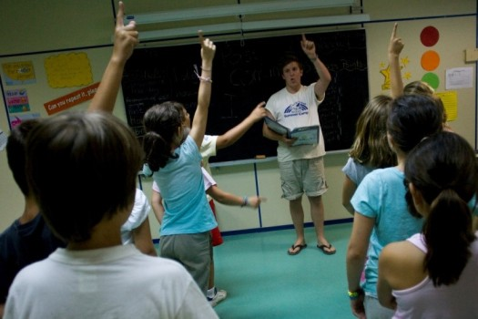 classroom-behavior at summer camp