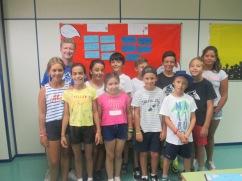 Summer Camp Class Photo