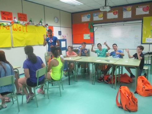 Summer Camp Classroom