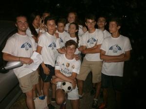 White team compete to win!