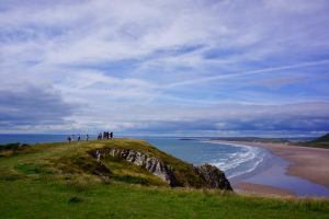 TECS Land Wales - Walk by the beach