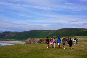 TECS Land Wales - Cliff Walk