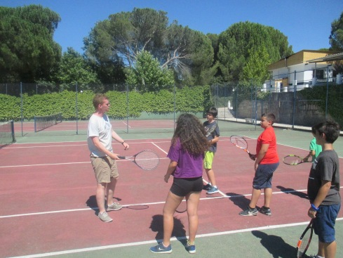Tennis Family Camp Gredos