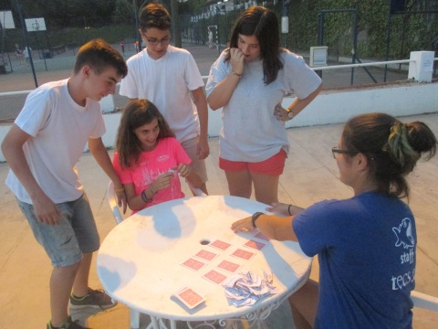 Evening Entertainment Family Camp Gredos
