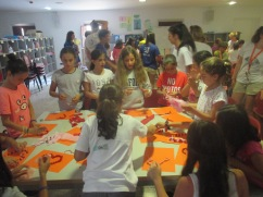 Art time in Anglo Camp