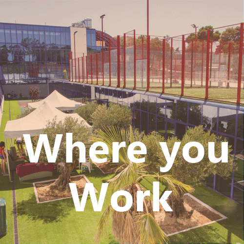 Where you work
